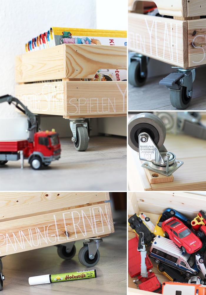 do it yourself spielzeugkiste mit rollen selbst bauen. Black Bedroom Furniture Sets. Home Design Ideas