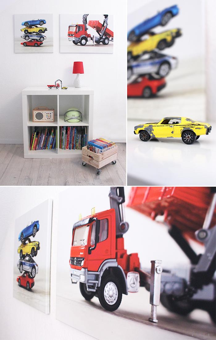 do it yourself leinw nde mit spielzeug f r das kinderzimmer. Black Bedroom Furniture Sets. Home Design Ideas