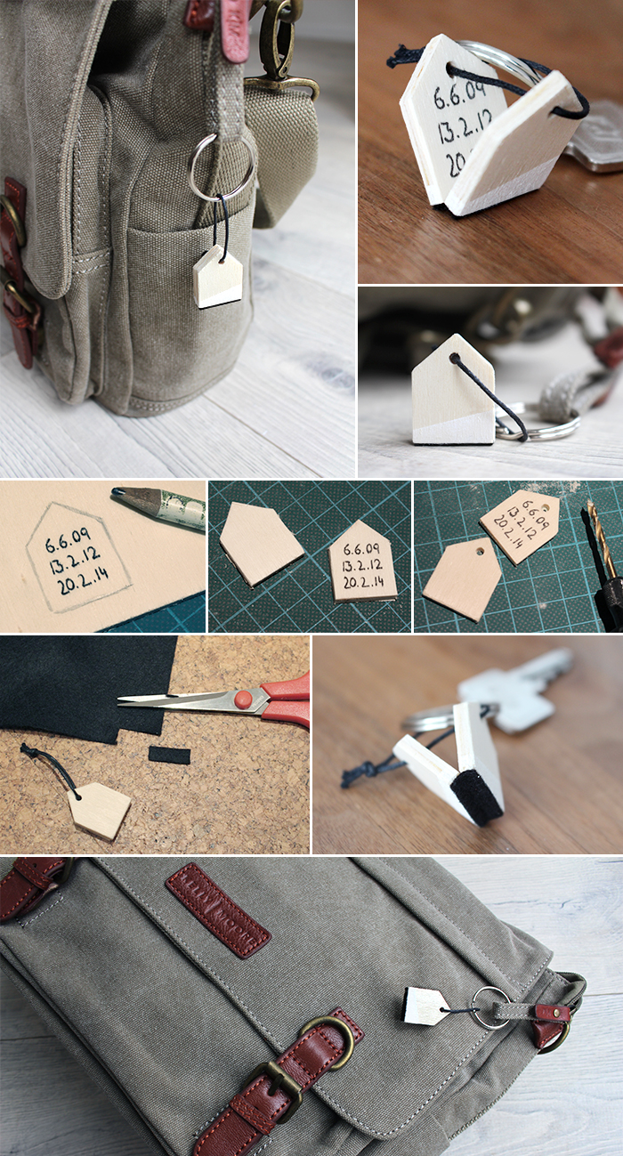 do it yourself schl sselanh nger aus holz basteln. Black Bedroom Furniture Sets. Home Design Ideas