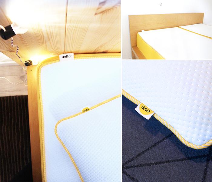eve kissen interesting beim urteil der matratze wollten wir erst einmal etwas abwarten wir. Black Bedroom Furniture Sets. Home Design Ideas