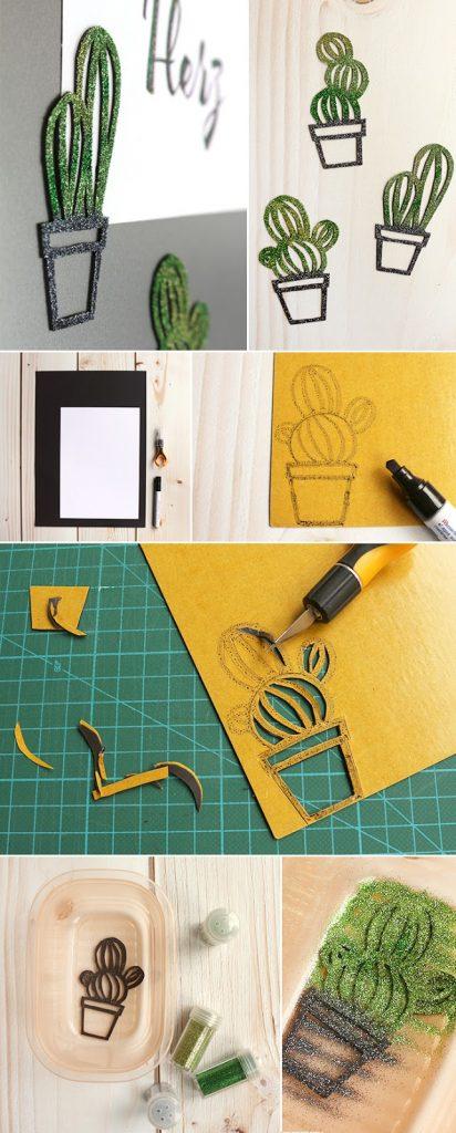 do it yourself magnete in kakteenform aus magnetfolie basteln. Black Bedroom Furniture Sets. Home Design Ideas