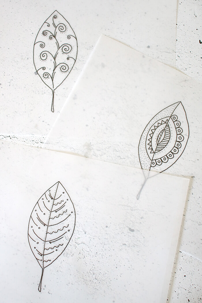 Do It Yourself Herbstlichter Aus Transparentpapier