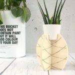 Pflanzständer in Ananasform aus Holz bauen