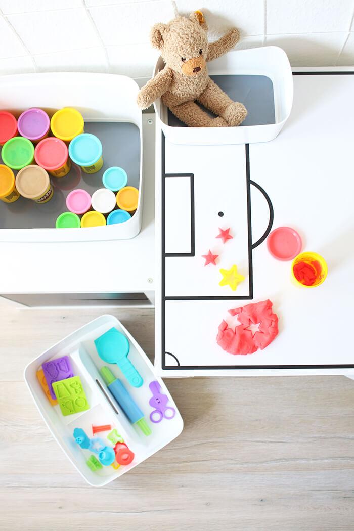 myBox eignet sich auch prima zum Sortieren von Spielzeug im Kinderzimmer