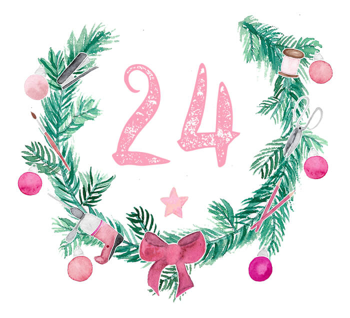 Türchen 24 des DIYnachten Adventskalenders