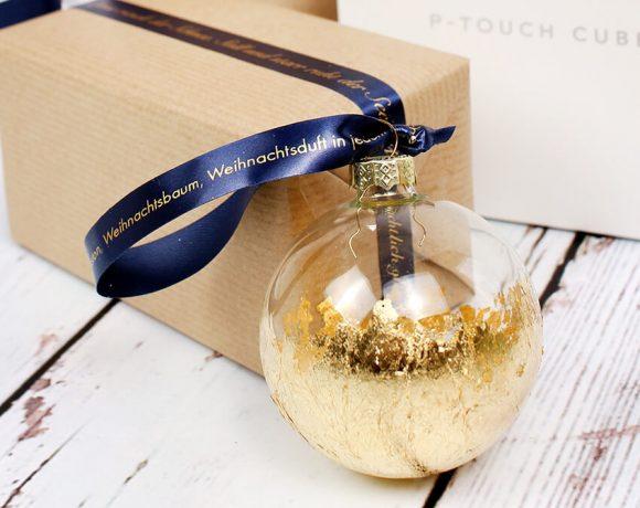 DIY Ideen mit bedruckbaren Geschenkbändern