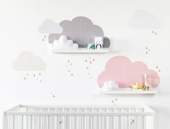 Limmaland Klebefolie Wolken