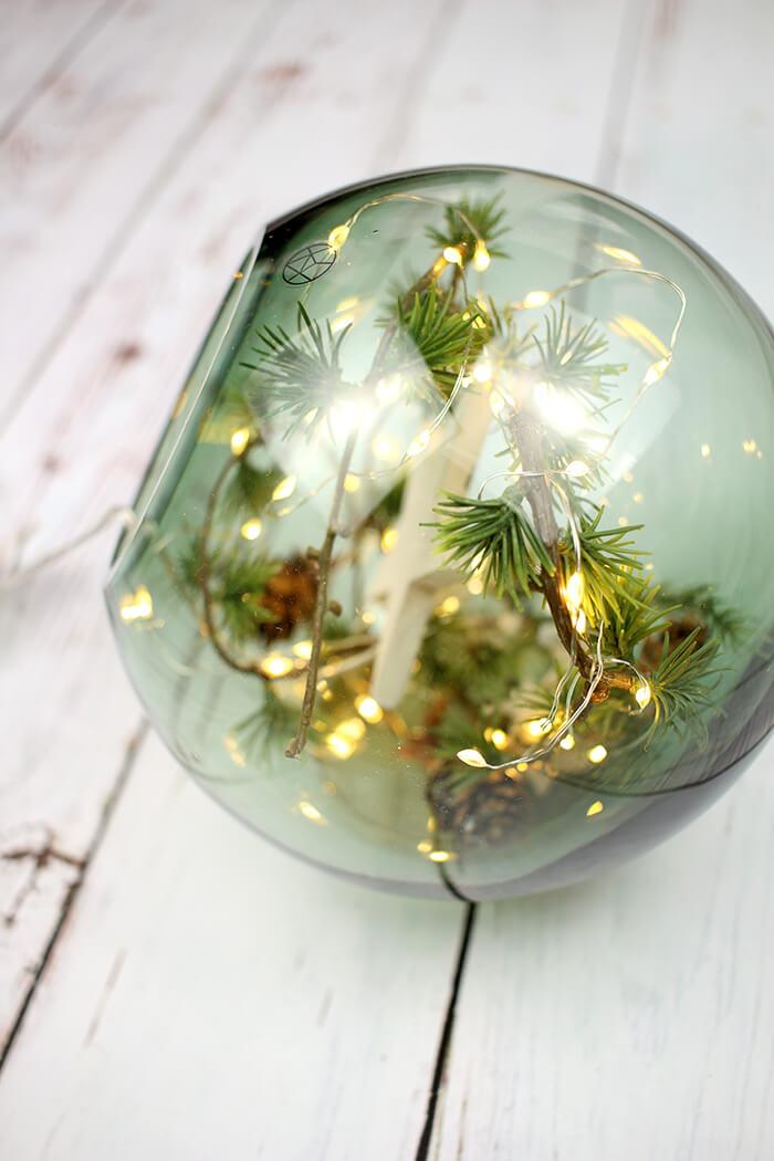 DIYnachten Globe Vase