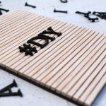 DIY Letterboard aus Holz von Gingered Things