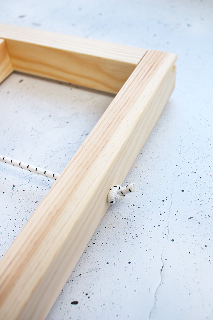DIY Ypperlig Wandregal von Ikea selbst bauen - Gummiseil - Gingered Things
