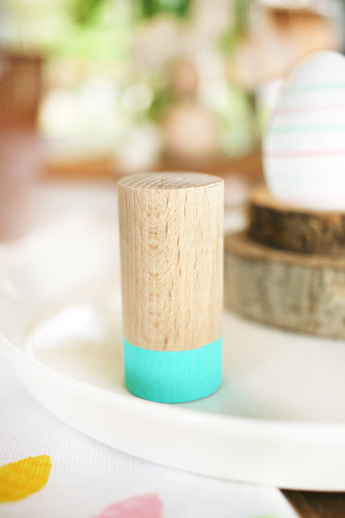 DIY Salzstreuer aus Rundholz selbst basteln - Gingered Things
