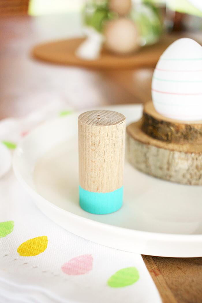 DIY Salztstreuer aus Rundholz selbst basteln - Gingered Things
