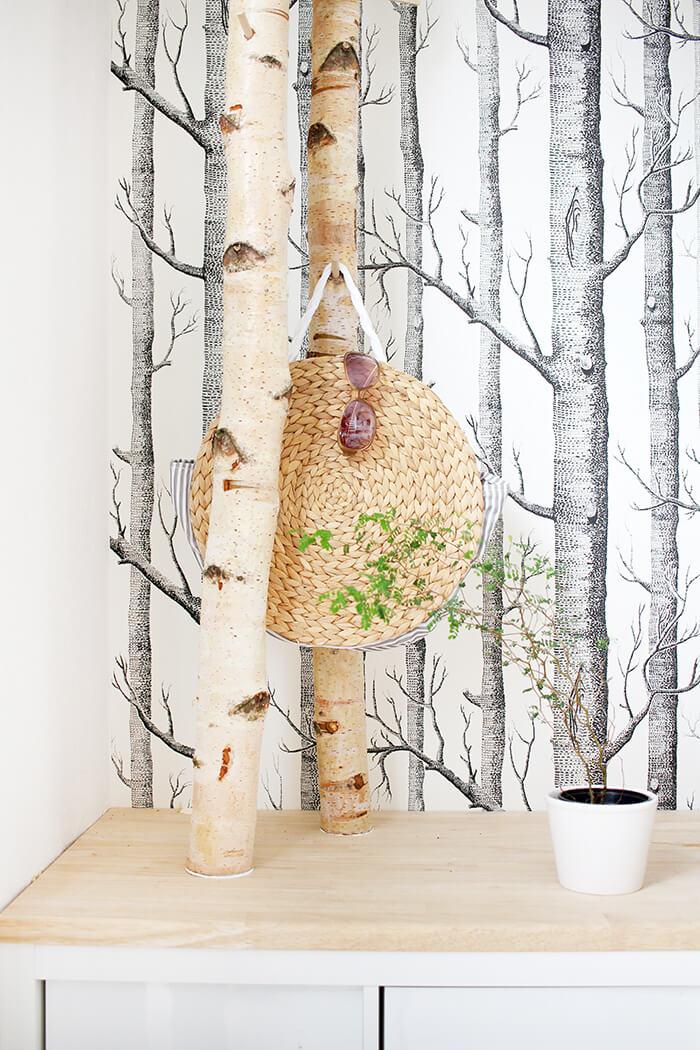 DIY Korbtasche aus Platzsets basteln, Upcycling - Gingered Things