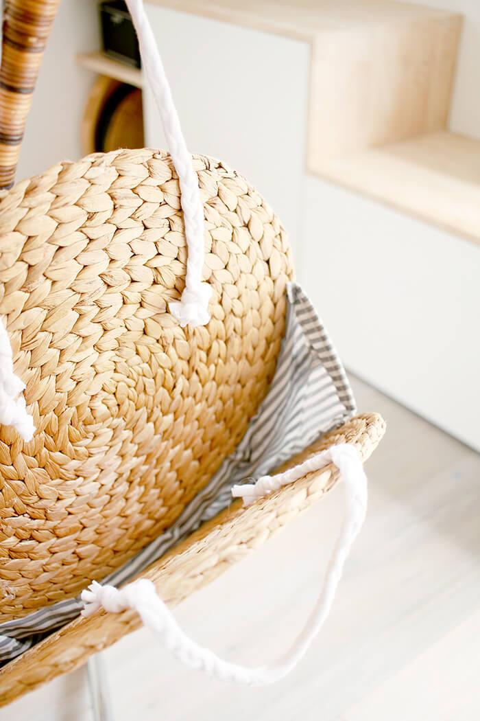 Innenteil der DIY Upcycling Tasche