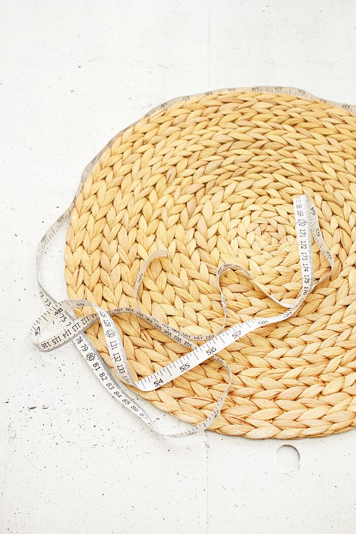 DIY Tasche aus Platzsets basteln - Gingered Things