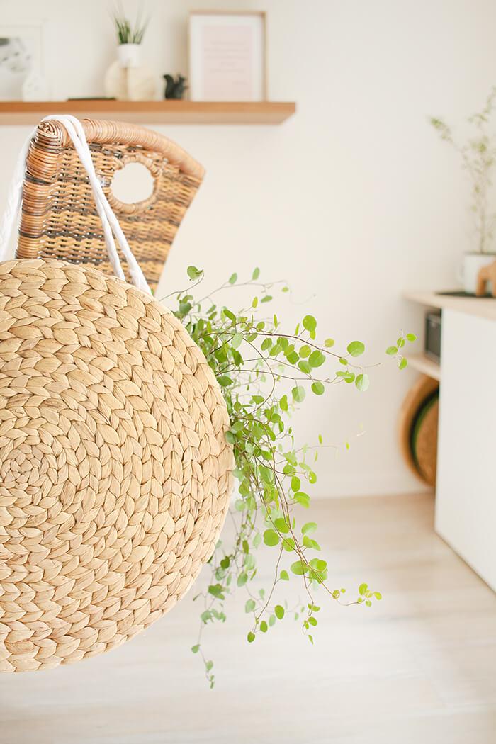 DIY Korbtasche aus Platzsets selbst basteln