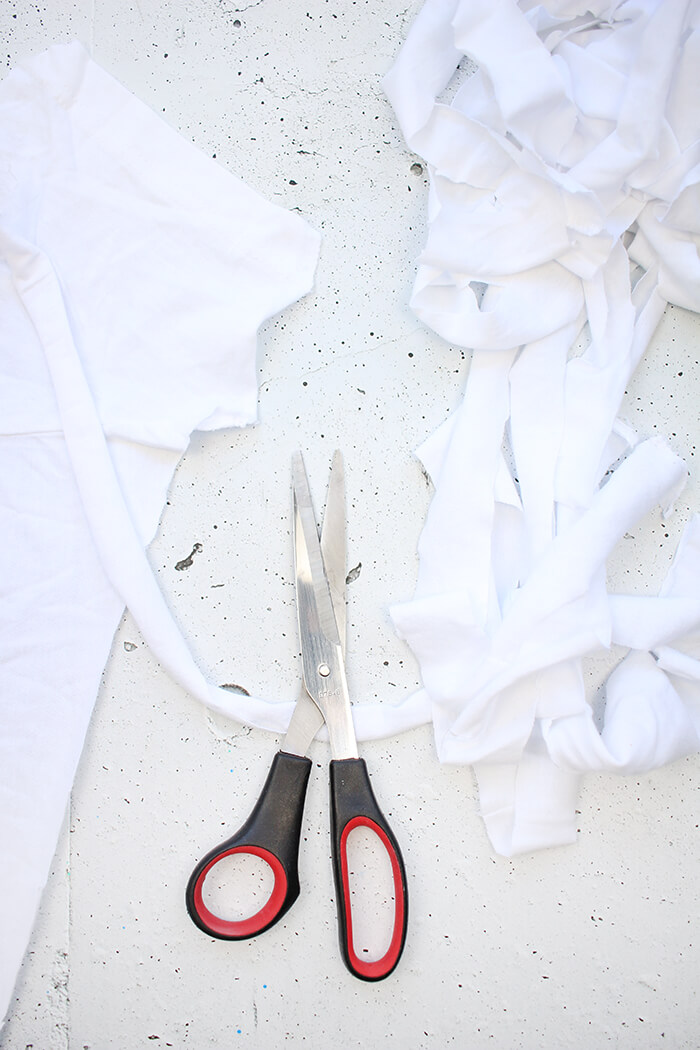 Shirtgarn für die Tasche selbst herstellen
