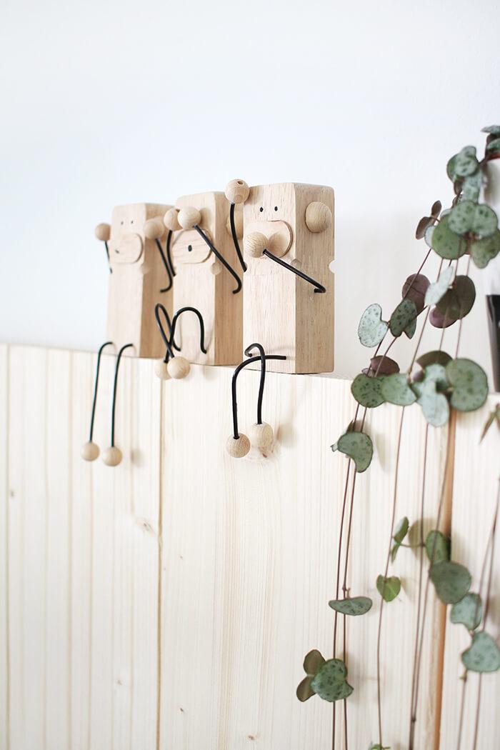 Die drei Affen aus dem japanischen Sprichwort
