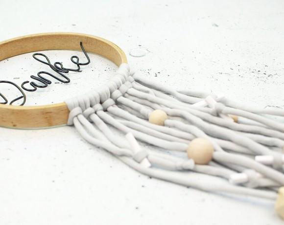 DIY für Muttertag eine hübsche Deko im skandinavischen Stil mit Gutscheinen basteln | GIngered Things