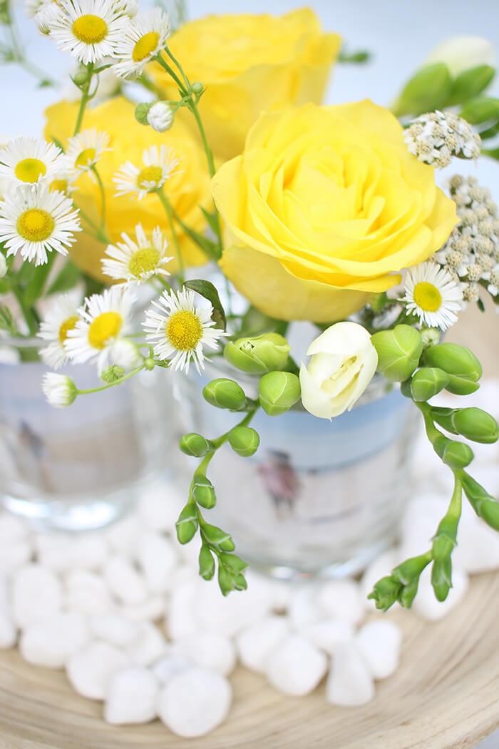 Blumen machen jede Tafel schöner