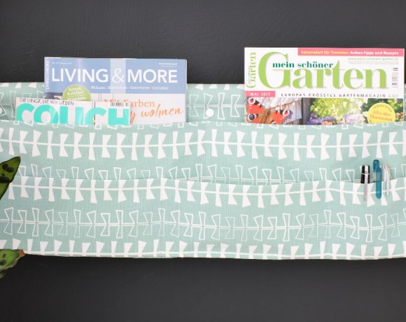 DIY Magazinhalter für Sprossenwand mit Tillisy
