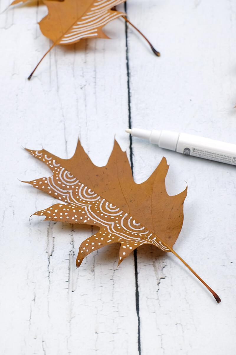 Bei Katrin von Soulsiter meets Freinds zeig ich euch heute was aus diesen wunderschönen Blättern geworden ist