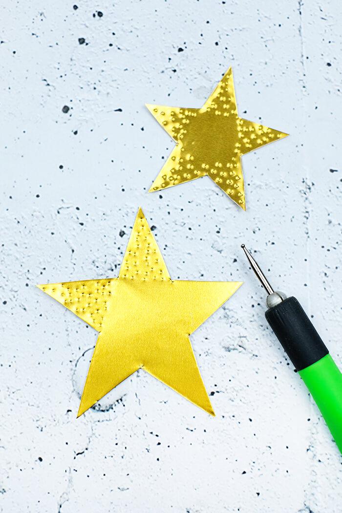 Sterne mit Modellierwerkzeug bearbeiten