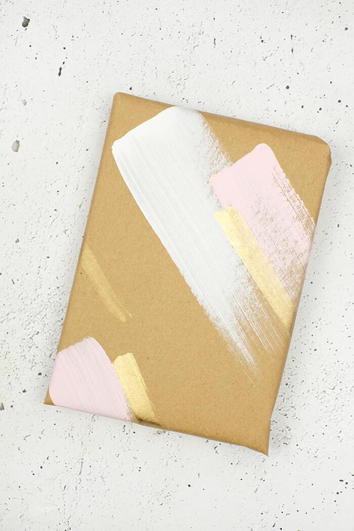 DIY Challenge - Geschenkpapier selbst machen