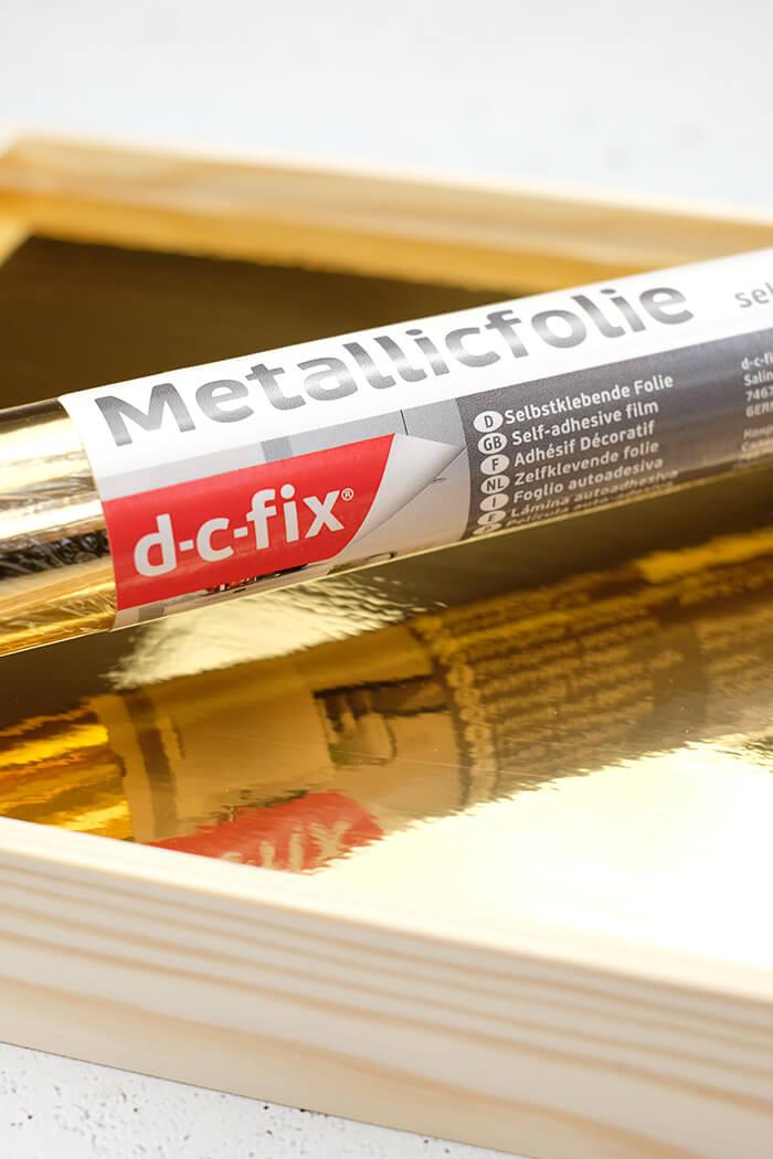 Metallicfolie Gold von d-c-fix