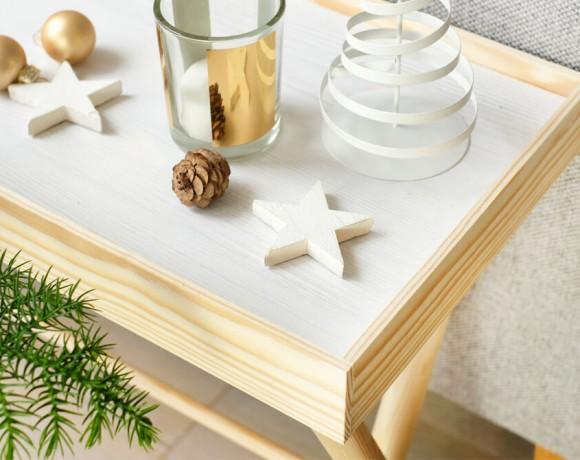DIYnachten mit d-c-fix und Gingered Things | Tisch mit Wendetablett