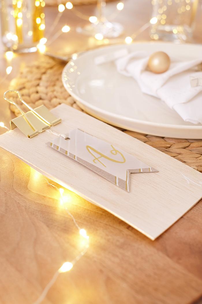 DIYnachten Weihnachtsgeschichte als Platzkarte mit Gingered Things