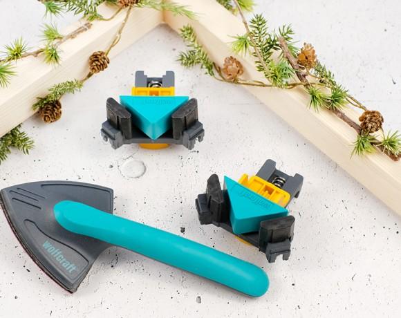 DIYnachten | Ein Rahmen für die Weihnachstpost mit wolfcraft und Gingered Things