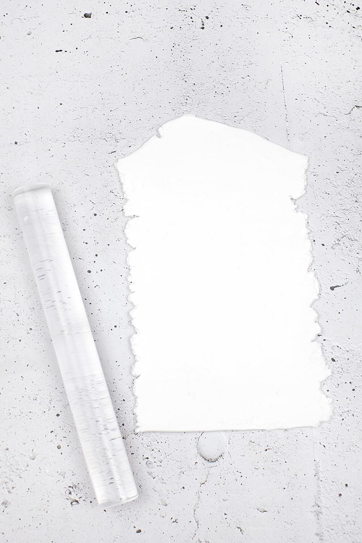 DIY Dekohäuschen und Duftverteiler aus Fimo - ausrollen
