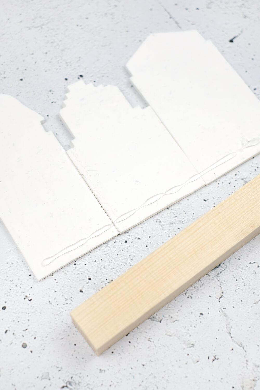 DIY Dekohäuschen und Duftverteiler aus Fimo - fest kleben
