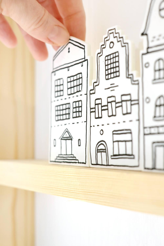 DIY Dekohäuser und Duftverteiler aus Fimo