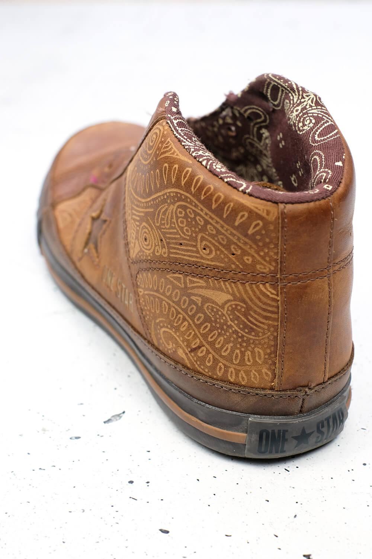 Schuhe gravieren mit dem Dremel Stylo+