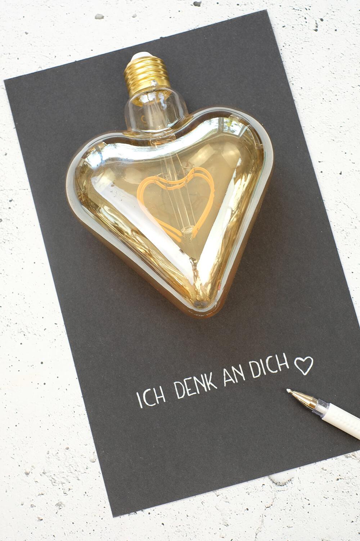 Botschaft mit Herz
