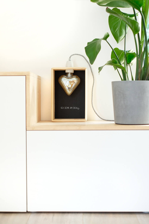 LED Lampe zum Muttertag selbst bauen