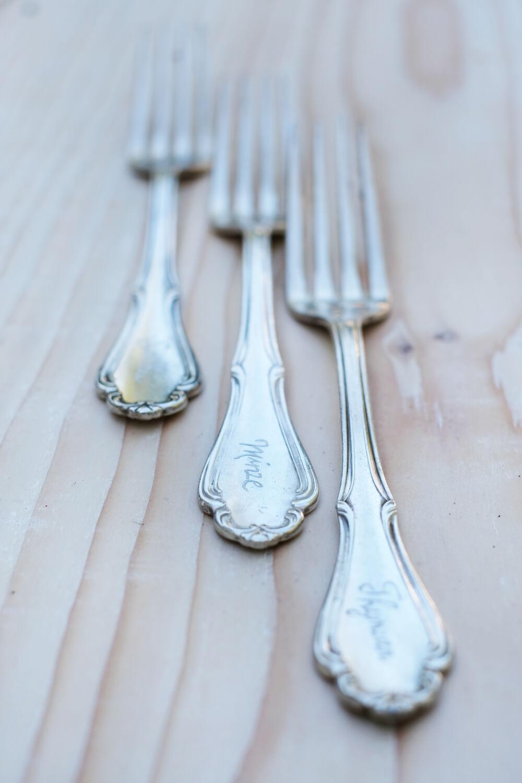 DIY Pflanzstecker aus Besteck mit dem Dremel Lite gravieren, Gingered THings