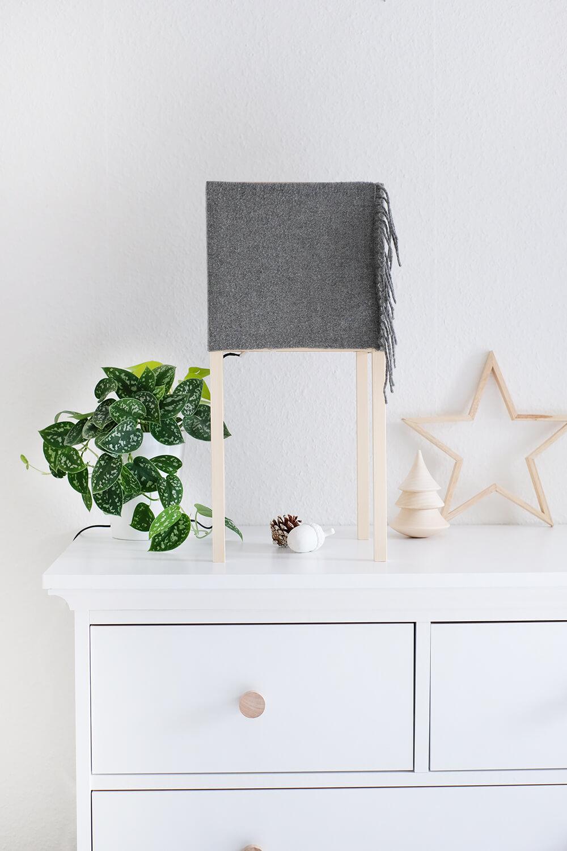 DIYnachten | Türchen 15 | DIY Lampe mit austauschbarem Covern
