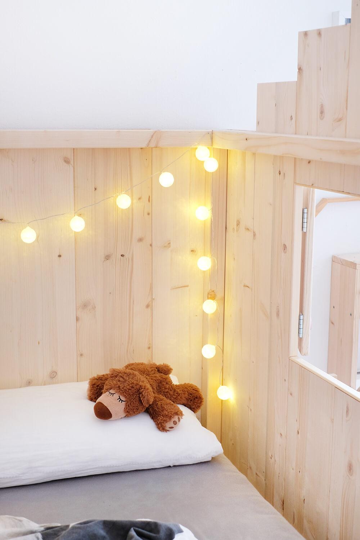 DIY Hausbett - WIe aus dem Nordli von Ikea ein Hasubett wird - Gingered Things