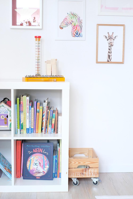 DIY Bett für das Kinderzimmer - Wie aus dem Ikea Nordli ein Hausbett wird