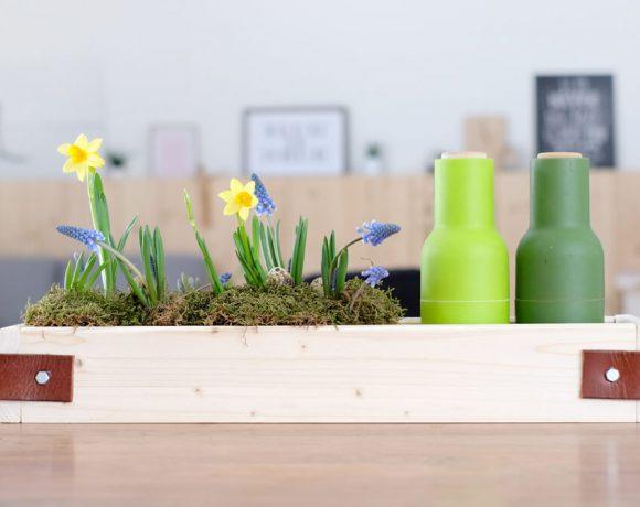 DIY Pflanz- und Ordnungsbox mit CONNEX - Gingered Things
