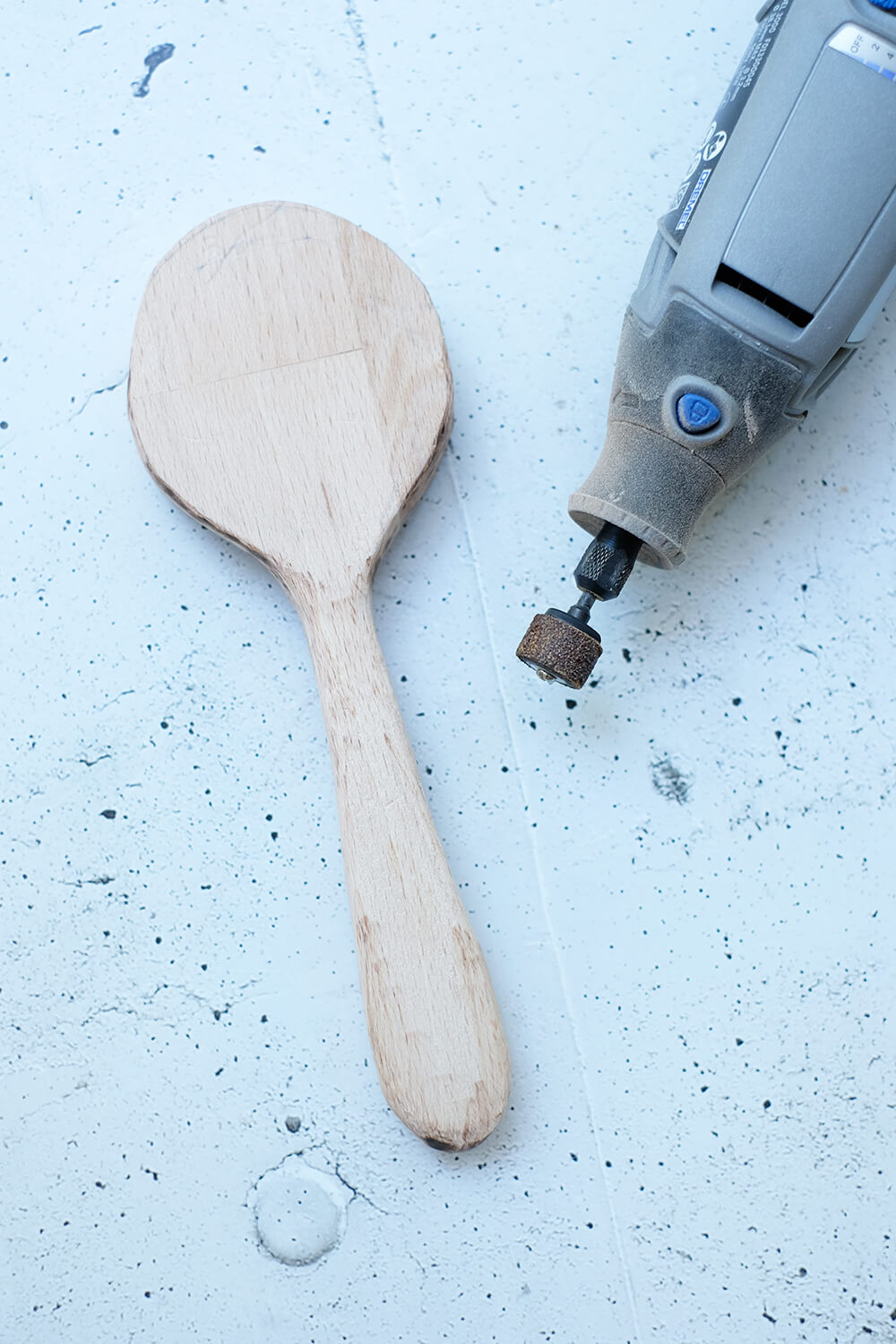 DIY Challnge September 2020 Holz - Woe man einen löffel schnitzt - Gingered Things