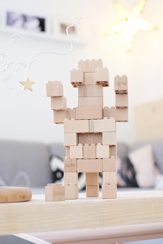 DIYnachten - bena Holzbausteine und Gingered Things